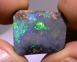 7.15 ct Beautiful Blue Green Natural Queensland Boulder Opal