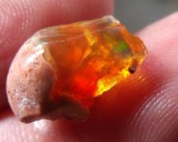 4.77 Cts. Rough mexican fire opal Specimen