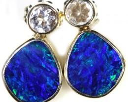 Modern design Opal Doublet Earring CF1467