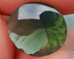 1.10 CRT BEAUTY GREENISH INDONESIAN FIRE OPAL FACETED