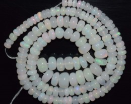 64.20 Ct Natural Ethiopian Welo Opal Beads Play Of Color