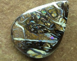 "17cts.""BOULDER MATRIX OPAL~UNBEATABLE VALUE"""