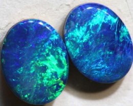 1.99 CTS BEAUTIFUL DOUBLET OPAL PAIR LO-4379