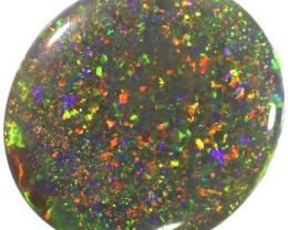 4.53 CTS SEMI BLACK OPAL FROM  LIGHTNING RIDGE [SO9608] SAFE