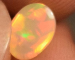 1.20 Cts Ethiopian Welo Fire Opal Cabochon Natural No Reserve