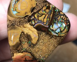 81cts Boulder Opal Stone AD374