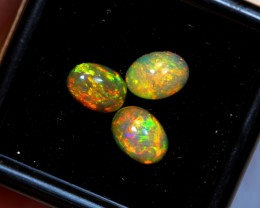 Hurry, No Reserve~ 1.73cts Oval 7x5mm Welo Opal Parcel Lot