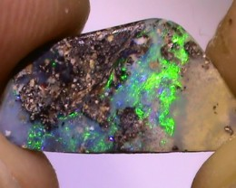 3.05 ct Boulder Opal Natural Blue Green