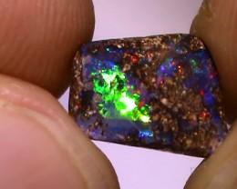 2.50 ct Gem Multi Color Natural Queensland Boulder Opal