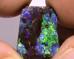 4.70 ct Gem Carved Boulder Opal Natural Blue Green