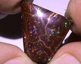 12.30 ct Koroit Boulder Opal Matrix With Gem Multi Color
