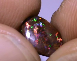 1.50 ct Koroit Boulder Opal Matrix With Gem Multi Color