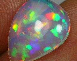 Christmas Sales 2.70cts RAINBOW PATCHWORK Natural Ethiopian Welo Opal