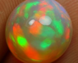 4.10cts Round Flash Fire Ethiopian Opal