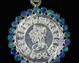48.90 CTS DOUBLET OPAL 'END OF THE WORLD'  PENDANT [SOJ6008]