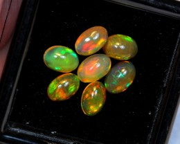 NR Auction ~ 2.15cts Oval 6x4mm Welo Opal Parcel Lot