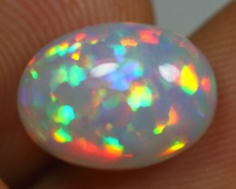 3.35cts PRISM RAINBOW PATCHWORK Natural Ethiopian Welo Opal
