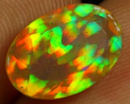 Top Class Faceted 2.90cts Lightning Prism Pattern Ethiopian