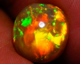 4.34 CT  MULTI RAINBOW FLASHY ETHIOPIAN  OPAL-AB40