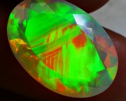 5.05 CRT INCREDIBLE PERFECT GOLDEN PAINTING 5/5 FULL NEON WELO OPAL
