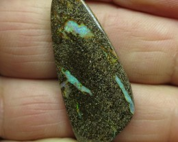 "23cts.""BOULDER OPAL~FROM OUR MINES"""