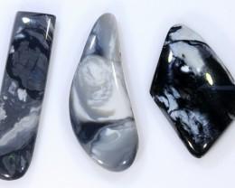 14ct 'MAGPIE' Solid Black Potch Opal Parcel [LO-865]