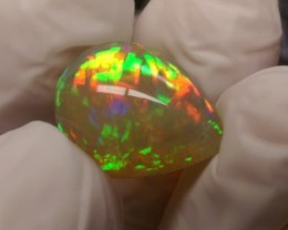 Screamin Bright® 10.25ct Dark Crystal With Beautiful Flash