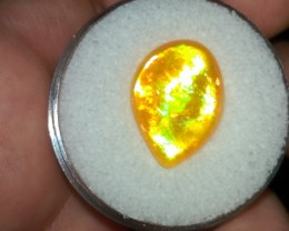 Screamin Bright® Amazing Orange Crystal With Saturated Broadflash