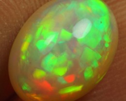 Christmas Sales 2.70cts Top 5/5 Multi Fire Cell Pattern Ethiopian Opal