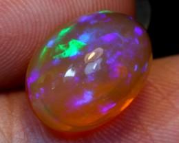 NR#  2.96Ct Aurora Violet Green Ethiopian Welo Opal