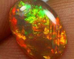 1.20cts RARE CHINESE WRITING Natural Ethiopian Welo Opal