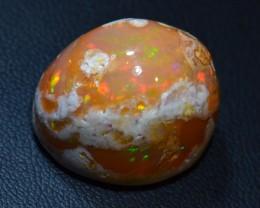 30ct Natural Mexican Matrix Cantera  Multicoloured Fire Opal