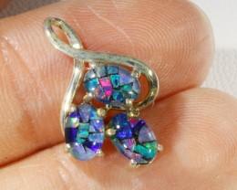 6.55cts Top  Mosaic Triplet opal pendant QOM1659