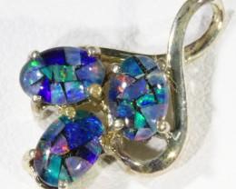 6.55cts Top Triplet opal pendant QOM1660