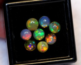 NR~ 2.80cts Round 5mm Welo Opal Parcel Lot