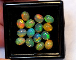 NR Auction ~ 3.63ct Oval 5x4mm Welo Opal Parcel Lot