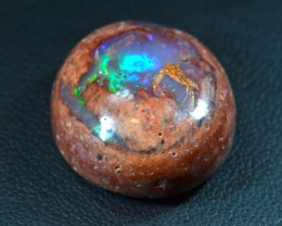 19.5ct Large Matrix Cantera Multicoloured Fire Opal