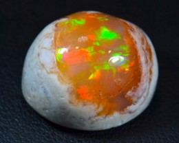 18ct Intense Matrix Cantera Multicoloured Fire Opal