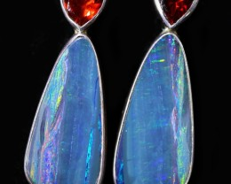 20.25 CTS OPAL DOUBLET WITH GARNET [SOJ6064]