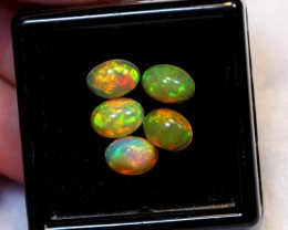 NR Auction ~ 2.89ct Oval 7x5mm Welo Opal Parcel Lot