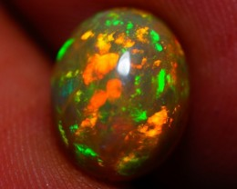 10x8MM EXQUISITE QUALITY BEAUTIFUL FLASHY MULTI COLOR WELO ETHIOPIAN OPAL-A