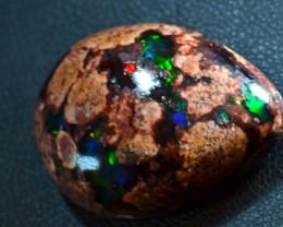29ct Natural Mexican Matrix Cantera Multicoloured Fire Opal