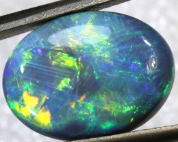 N-3 - 3.9CTS BLACK OPAL POLISHED STONE TBO-7746
