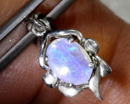 4CTS SILVER OPAL PENDANT OF-2104