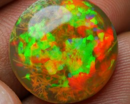 8.75 CRT RARE! PERFECT HOLOGRAM FIRE PUZZLE ROOT NEON PATTERN DARK CRYSTAL