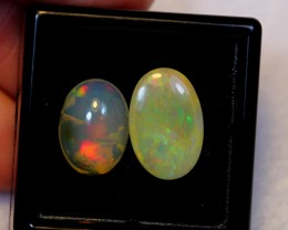 NR Auction ~ 7.34ct Oval 14x10mm, 12x9mm Welo Opal Parcel Lot