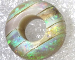 5.9CTS ROUND OPAL BEAD 1PC FOB-1203
