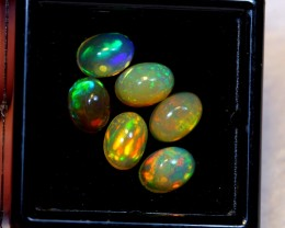 NR Auction ~ 4.00cts Oval 7x5mm Welo Opal Parcel Lot