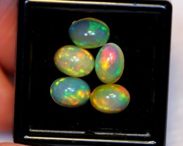NR#  5.25ct Oval 8x6mm Welo Opal Parcel Lot