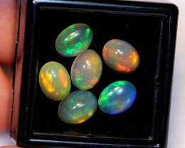 NR#  4.39ct Oval 8x6mm Welo Opal Parcel Lot